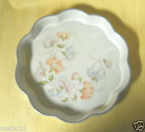 "DENBY DAUPHINE 9 7/8"" QUICHE DISH SERVER"