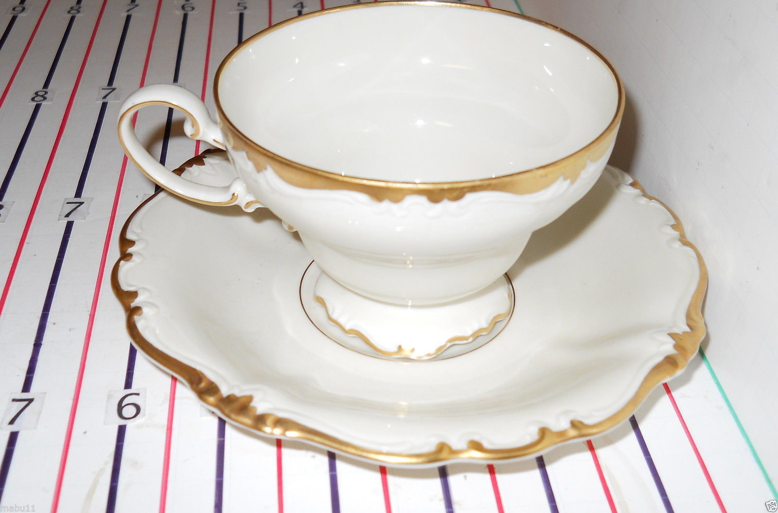 Primary image for ROSENTHAL BAROQUE CUP AND SAUCER