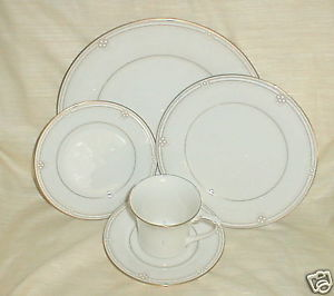 Primary image for NORITAKE SATIN GOWN SALAD PLATE