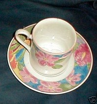 MIKASA SPLENDROUS CABO7 CUPS AND SAUCERS SET OF 2 - $7.91