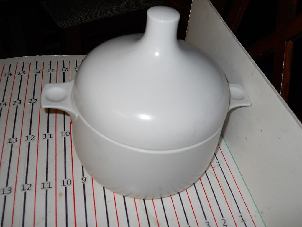 Primary image for ROSENTHAL PLUS WHITE  LARGE  CASSEROLE WITH LID