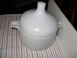 ROSENTHAL PLUS WHITE  LARGE  CASSEROLE WITH LID - $48.46