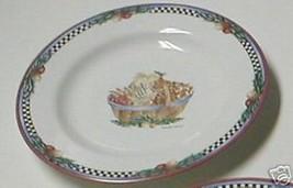 Sakura Pine Cone Basket Salad Plate - $3.95