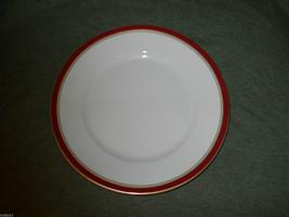 RAYNAUD DIPLOMATE DIPLOMAT RED SALAD PLATE - $23.71