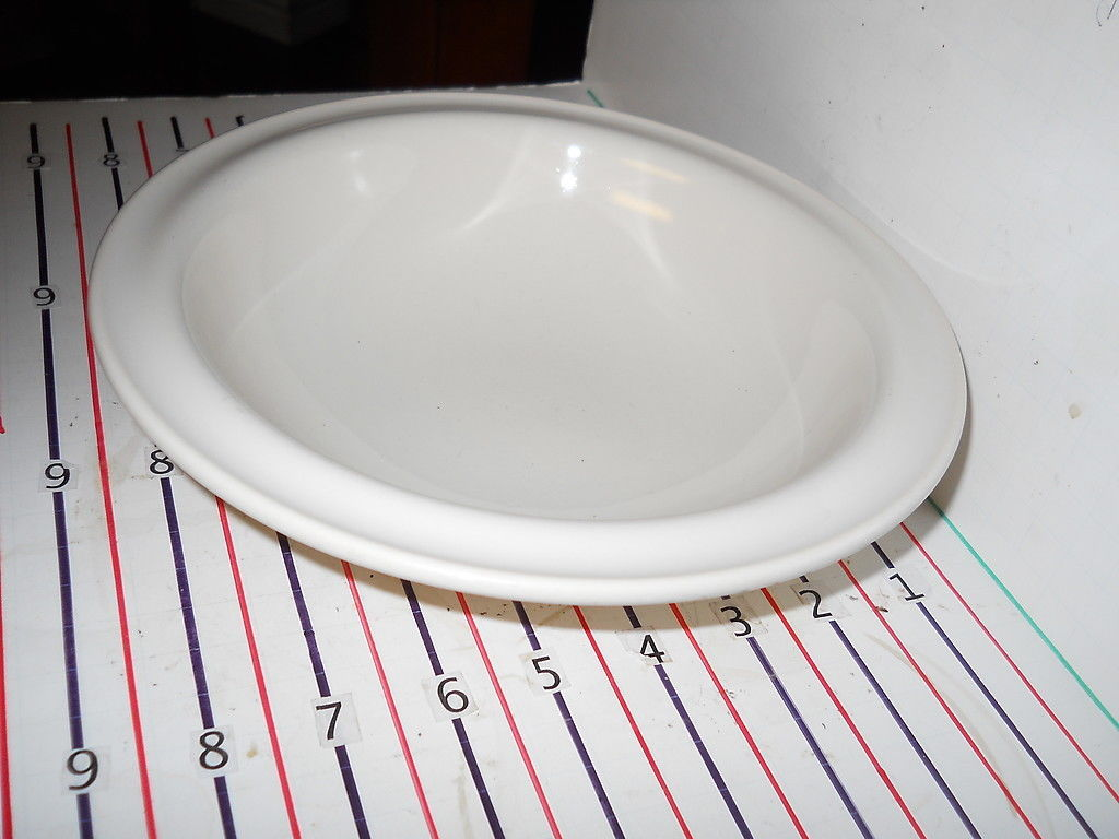 Primary image for CRATE & BARREL GALLERY PARCHMENT SOUP BOWL