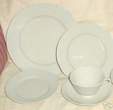 RORSTRAND SWEDISH GRACE SAND CREAM CUP AND SAUCER SET - $12.86