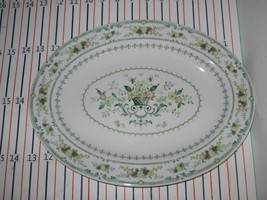 "ROYAL DOULTON PROVENCAL 13 1/4"" SERVING PLATTER - $28.70"