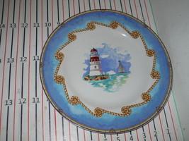FITZ & FLOYD SHORE LIGHTS   DINNER PLATE C - $18.76