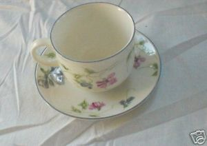 Primary image for ROYAL DOULTON AMETHYST CUP AND SAUCER