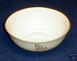 PICKARD BROWN ROSE FRUIT BOWL - $7.77