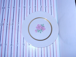 FRANCISCAN CHEROKEE ROSE WIDE BAND BREAD  PLATE - $5.44