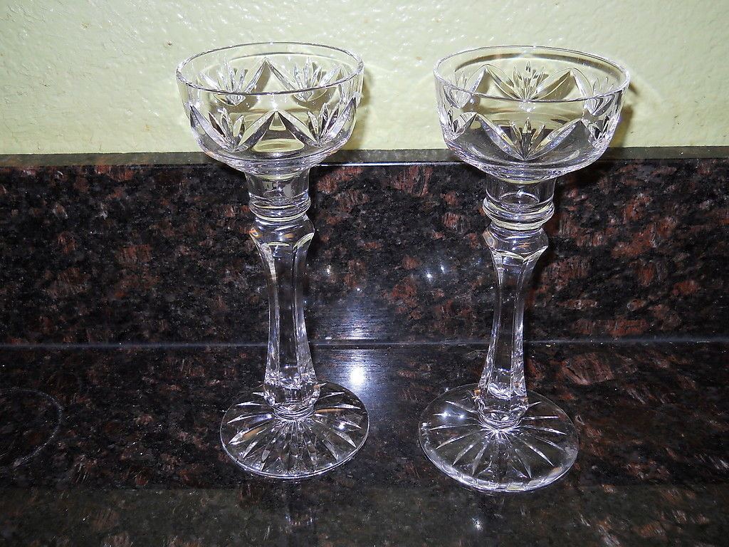 Primary image for ROGASKA PAIR OF CANDLESTICKS 8 1/4""