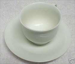 NORITAKE PARCHMENT CUP AND SAUCER SET - $6.92