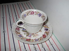 WEDGWOOD CORNFLOWER DEMITASSE CUP AND SAUCER  EX COND - $12.82