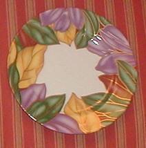 Fitz & Floyd Cloisonne Tropicana Bread Plate - $10.89