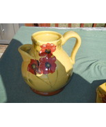 AMBIANCE FLEUR ROUGE 80oz WATER PITCHER - $38.56
