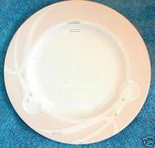 MIKASA CLASSIC FLAIR PEACH SALAD PLATE - $3.46
