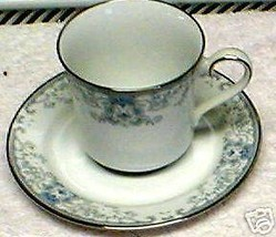 LENOX WHITE HEATHER   CUP AND SAUCER - $8.66
