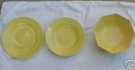 Fitz Floyd Total Color Spectrum Yellow Bread Plate - $1.98