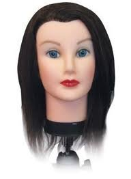 EVE Human Hair Mannequin Training Head 14