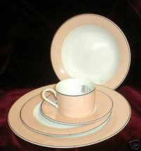 NIKKO TOWN & COUNTRY PEACH CUP AND SAUCER - $3.96