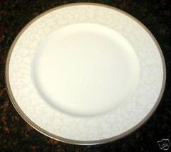 WEDGWOOD CELESTRIAL PLATIMUN  DINNER PLATE - $19.75