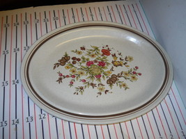 ROYAL DOULTON GAIETY OVAL SERVING PLATTER - $16.58
