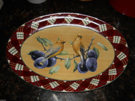 """Lenox Winter Greetings everyday 16 3/4"""" serving platter free shipping - $79.15"""