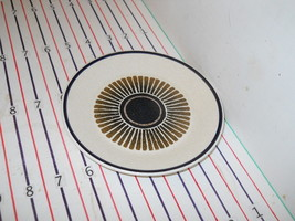LENOX PERCUSSION BREAD PLATE - $3.91