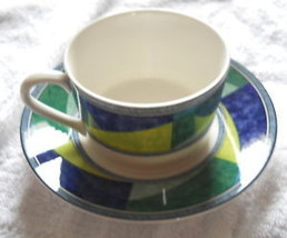 MIKASA COLOR IMAGE HK230 CUP AND SAUCER SET - $4.64