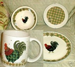 INTERNATIONAL ROOSTER MORN PLACE SETTING ACCENT MUG - $16.83
