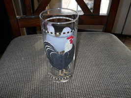 SAKURA ROOSTER TUMBLER / HIGHBALL GLASS - $6.88