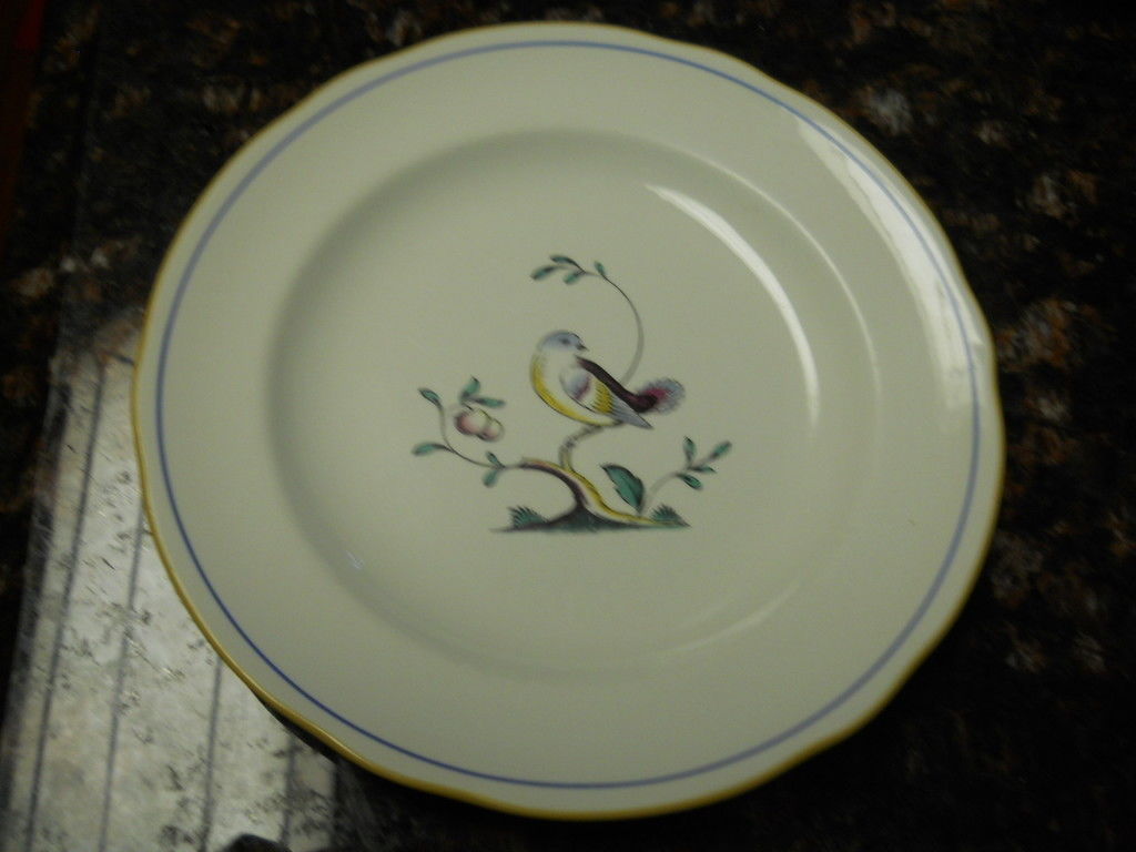 Primary image for SPODE QUEENS  BIRD IMPERIALWARE SALAD PLATE