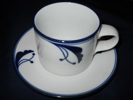 Dansk Bayberry Cup and Saucer Set of 4 Japan - $12.86