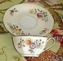 COMMUNITY CHINA BOUQUET CUP AND SAUCER - $8.91