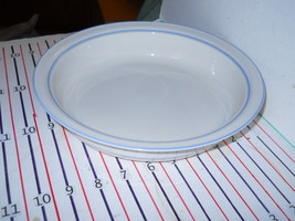 LENOX FOR THE LIGHT BLUE ROUND SERVING  BOWL SHALLOW - $17.77