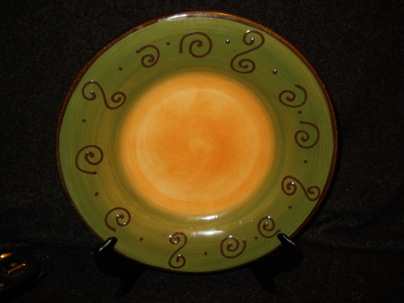 """Tabletops Ambrosia Sage Green dinner plate large 12 3/4"""" - $15.79"""