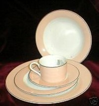 Nikko Town & Country Peach Salad Plate - $3.96