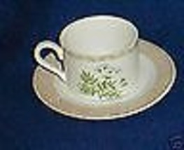FITZ & FLOYD VEGETABLE BASKET CUP AND SAUCER - $5.89