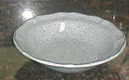 "Mikasa Stone Works Light Blue 7 1/4"" Fruit Bowl - $8.90"
