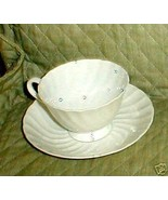 TUSCAN WHITECLIFFE CUP AND SAUCER - $6.88