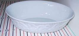LENOX GARDEN VINES OVAL SERVING BOWL - $48.50