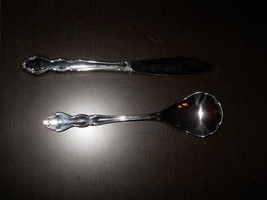 ONEIDA DOVER MASTER BUTTER SPREADER & SUGAR SPOON - $10.84