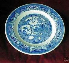 ROYAL CHINA BLUE WILLOW BREAD  PLATE - $3.47