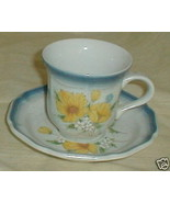 MIKASA AMY CA503 CUP AND SAUCER SET - $4.83