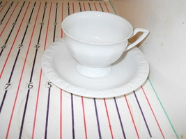 ROSENTHAL MARIA WHITE CUP AND SAUCER - $7.87