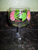 "Franciscan Dessert Rose Water Goblet 6 1/2"" - $5.69"