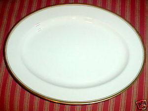 Primary image for NORITAKE VICEROY OVAL SERVING PLATTER 13 3/4""