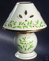 LENOX HOLIDAY TEA LIGHT LAMP WITH SHADE - $21.77