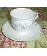 CHRISTOPHER STUART BLUE VINE CUP AND SAUCER Y1009 - $3.95